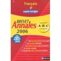 Annales - Sujets corriges - Bac 2006