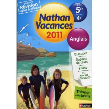 De La 5eme A La 4eme Anglais Edition 2011