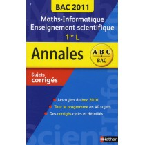 Maths-informatiqu e/ Enseignement scientifique - 1Ere L - Bac 2011