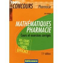 Mathematiques Pharmacie - Cours Et Exercices Corriges 12e Edition
