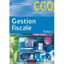 CGO - Gestion fiscale T.1 - Manuel (édition 2009/2010)
