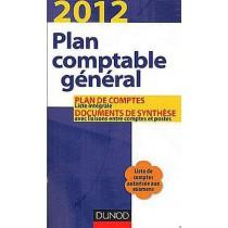 Plan comptable général - Plan de comptes et documents de synthèse (édition 2012)
