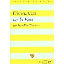 Iad - Dissertations Sur La Paix