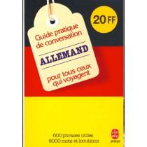 Guide Pratique De Conversation Francai s/ Allemand