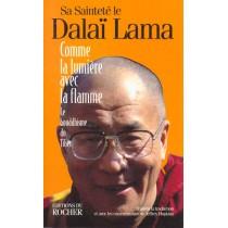 Comme La Lumiere Avec La Flamme : Le Bouddhisme Du Tibet
