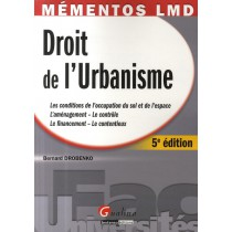 Droit de l'urbanisme (5e édition)