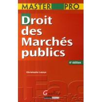 Droit des marchés publics (4e édition)