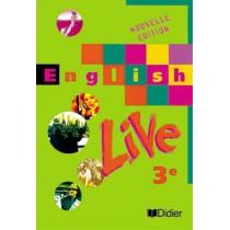 English Live 3e Lv1 (Ed. 1999) Livre De L'Eleve