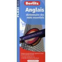 Anglais Dictionnaire Des Mots Essentiels