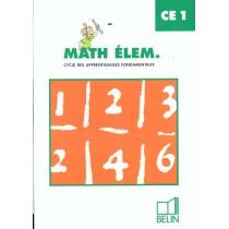 Math Elem Ce1 Eleve