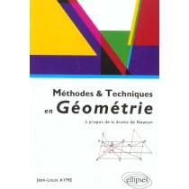 Methodes & Techniques En Geometrie A Propos De La Droite De Newton