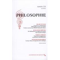 Revue Philosophie Minuit T.114