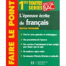 L'Epreuve Ecrite De Francais