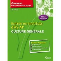 Concours d'entrée en instituts d'AS-AP - Culture générale (4e édition)