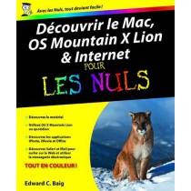 Découvrir le Mac, OS Mountain X Lion et Internet pour les nuls