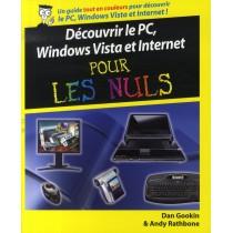 Découvrir le pc, windows vista et internet pour les nuls