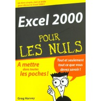 Excel 2000 Pour Les Nuls