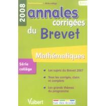 Mathématiques - Brevet (édition 2008)