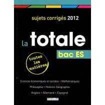 Bac ES - Sujets corrigés (édition 2012)