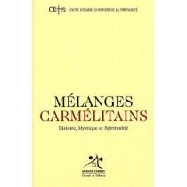 Mélanges carmelitains T.8 - Histoire, mystique et spiritualité