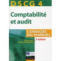 DSCG 4 - Comptabilité et audit - Corrigés du manuel (3e édition)