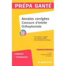 Annales Corrigees Concours D'Entree Orthophoniste