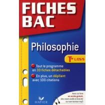 Fiches bac - Philosophie