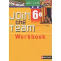 Anglais - 6Eme, niveau A 1/ A2 - Workbook (édition 2010)