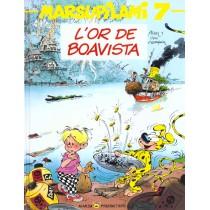 Marsupilami T.7 - L'or de boavista