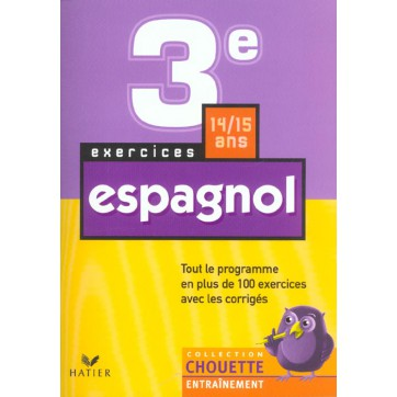espagnol 3eme