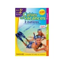 Françai s/ Mathématiques/Anglais - De la 5ème à la 4ème