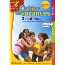 Françai s/ Mathématiques/Anglais - De la 6ème à la 5ème - 11/12 Ans