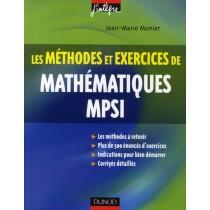 Les méthodes et exercices de mathématiques MPSI (3e édition)