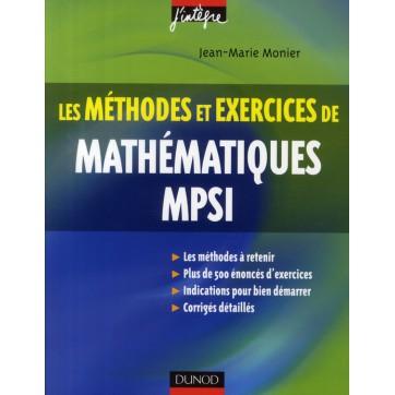 Les méthodes et exercices de mathématiques MPSI (3e ...