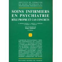 Soins infirmiers en psychiatrie - Rôle propre et cas concrets (2è édition)