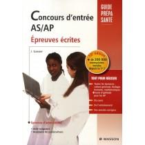 Concours d'entrée A S/ AP - Epreuves ecrites (10e édition)