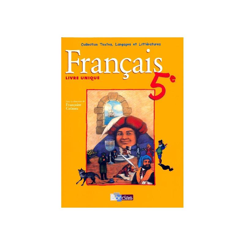 Francais 5e Livre Uniq Manuel