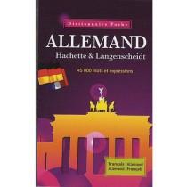 Dictionnaire poche Hachette & Langenscheidt - Allemand-français / Français-allemand