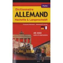 Dictionnaire Hachette & Langenscheidt poche - Français-allemand / Allemand-français