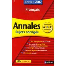 Français - Brevet 2007