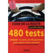 code de la route 480 tests sp cial nouveau permis all livres. Black Bedroom Furniture Sets. Home Design Ideas