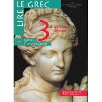 Lire Le Grec 3e - Livre De L'Eleve - Edition 1998