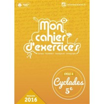 Français - Mon cahier d'exercices - 5Eme (édition 2016)