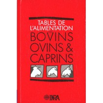 Table De L'Alimentation Des Bovins Ovins Et Caprins
