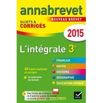 L'intégrale 3ème - Annales - 2015