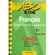 Abc Francais 1ere Textes Argu Spe Method