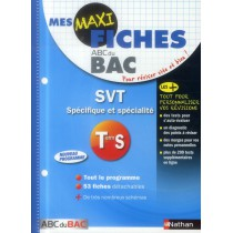 SVT - Terminale S - Spécifique et spécialité