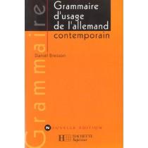 Grammaire D'Usage De L'Allemand Contemporain