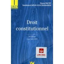Droit constitutionnel - A jour août 2010 (29e édition)