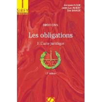 Droit civil, les obligations T.1 - L'acte juridique (13e édition)